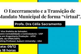 """O Encerramento e a Transição municipal de forma """"virtual"""". (1)"""